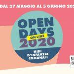 Nidi d'infanzia comunali: Open Day online dal 27 maggio al 5 giugno