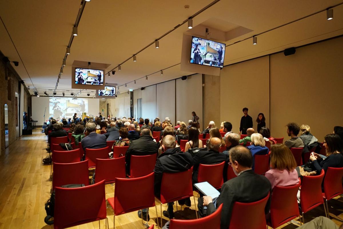 Sala Italo Calvino Siena Comunica